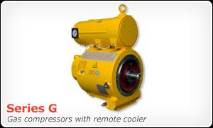 Series G gas boost compressor