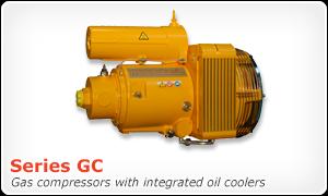 Series GC gas boost compressor