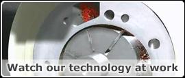Rotary vane video