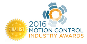 Finalist in Motion Control Industry Awards