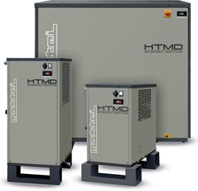 Thermal-mass refrigeration dryer